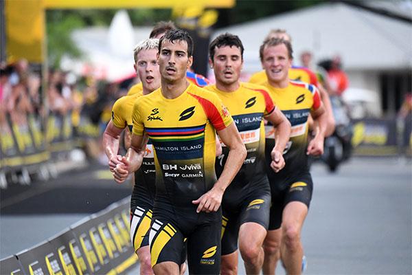 Mario Mola alcanza el segundo puesto en la Super League Triathlon