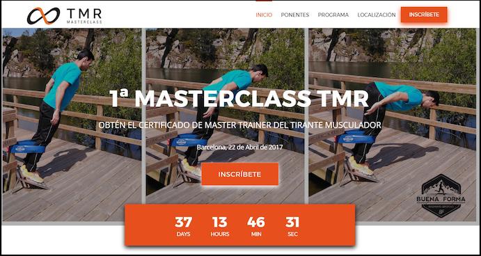 TMR World organiza la 1ª Masterclass TMR para profesionales del deporte y la salud
