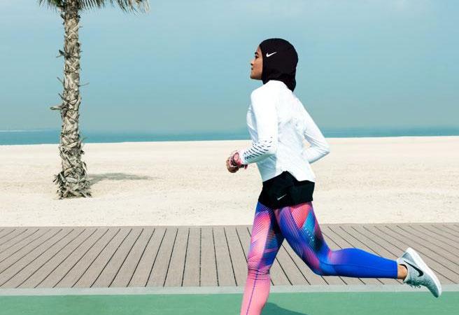 Nike lanza un hijab para atletas musulmanas
