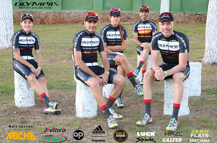 El Olympia Factory Cycling Team deslumbra en la Andalucía Bike Race