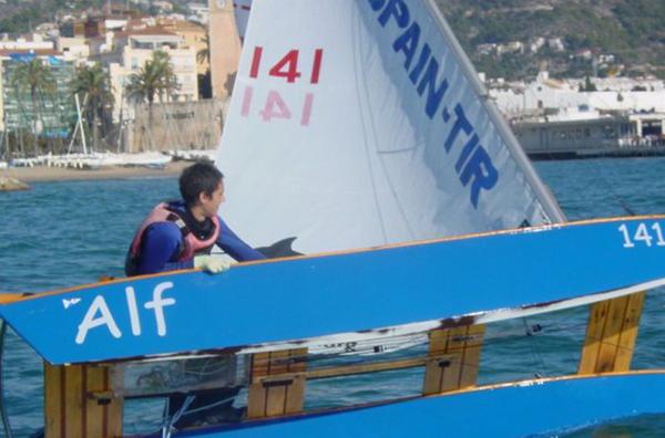 Ganadores del Campeonato de España de Patín a Vela Junior