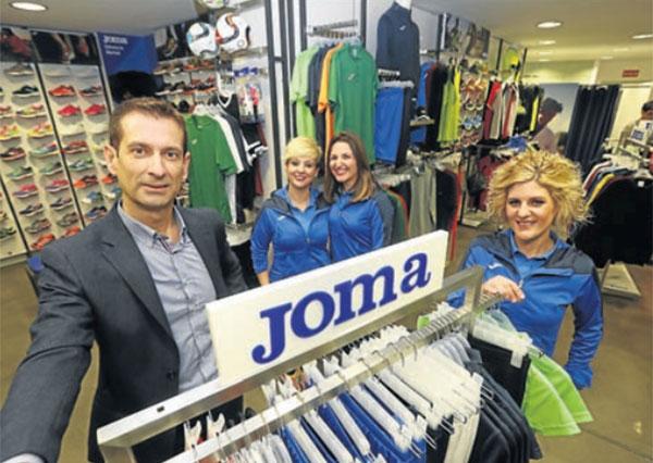 Rafa Sport abre la primera tienda Joma en Castellón