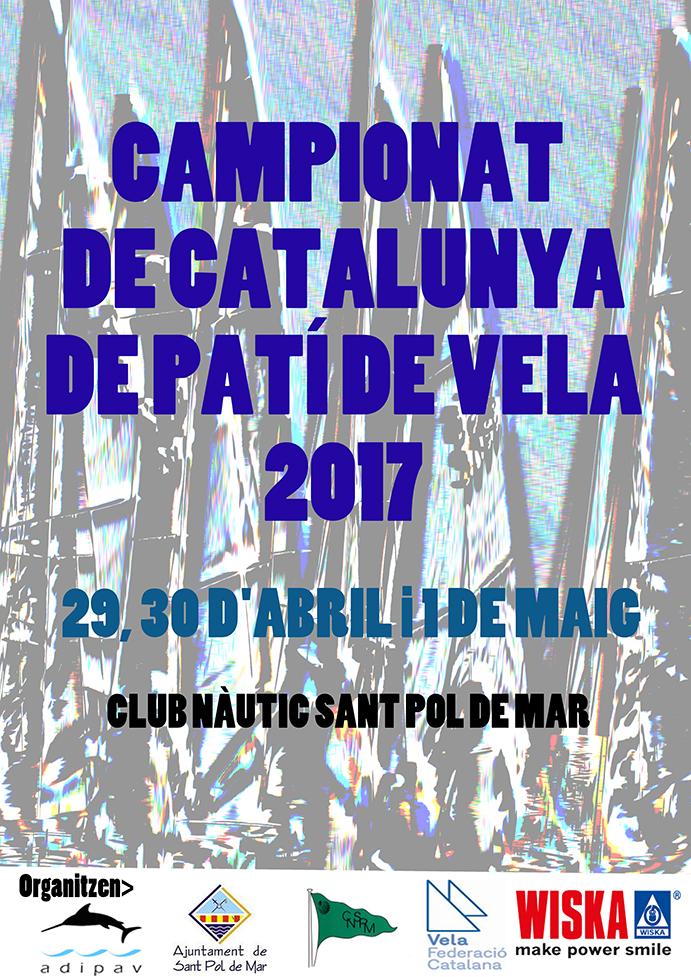 Wiska, empresa especializada en iluminación para embarcaciones e instalaciones náuticas, es el principal espónsor del Campeonato de Cataluña de patines a vela 2017. El evento ha contado, asimismo, con la colaboración del ayuntamiento de Sant Pol de Mar y la Federación Catalana de Vela.