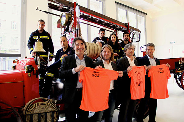 La Cursa Bombers de Barcelona espera a 15.000 participantes