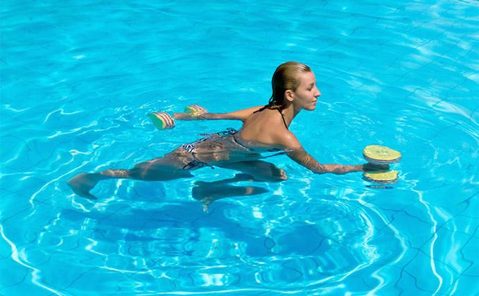 Los beneficios del entrenamiento en el agua