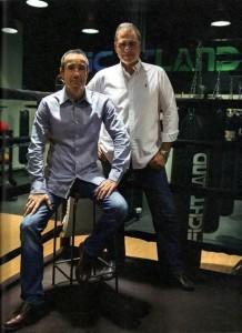 José Luis Serrano y César Barbosa, propietarios de Fightland