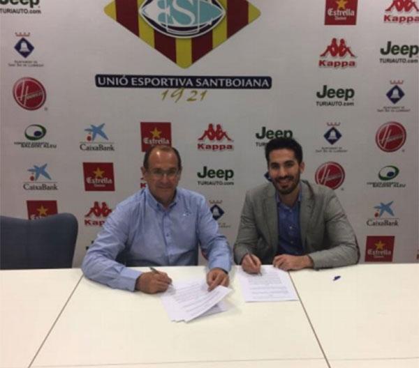 Kappa renueva su patrocinio a la Unió Esportiva Santboiana