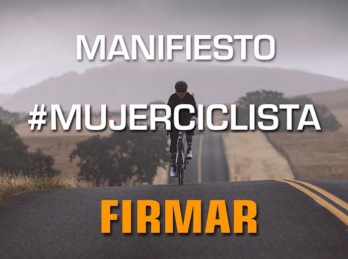 She Rides promueve un manifiesto a favor de las mujeres ciclistas