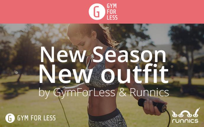 Gymforless y Runnics anuncian un acuerdo de colaboración