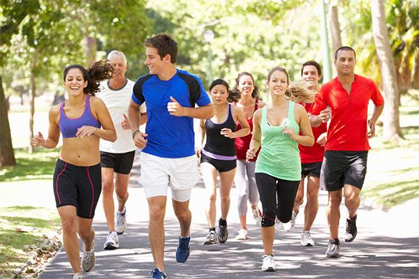 Practicar running es contagioso