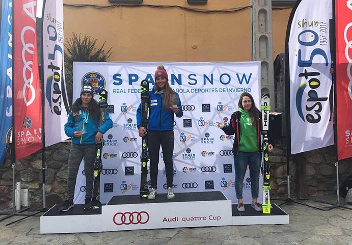 El Team Fischer se lleva seis medallas en los Campeonatos de España de Esqui Alpino