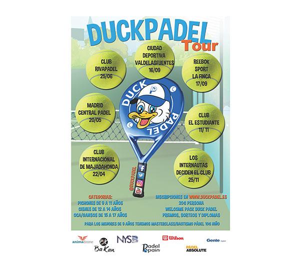Duck Pádel pone en marcha un circuito de menores en Madrid