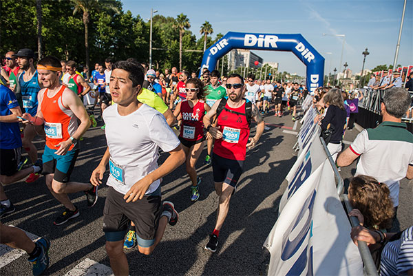 Nacho Cáceres y Marta Galimany ganan la 5ª Cursa DiR Guàrdia Urbana