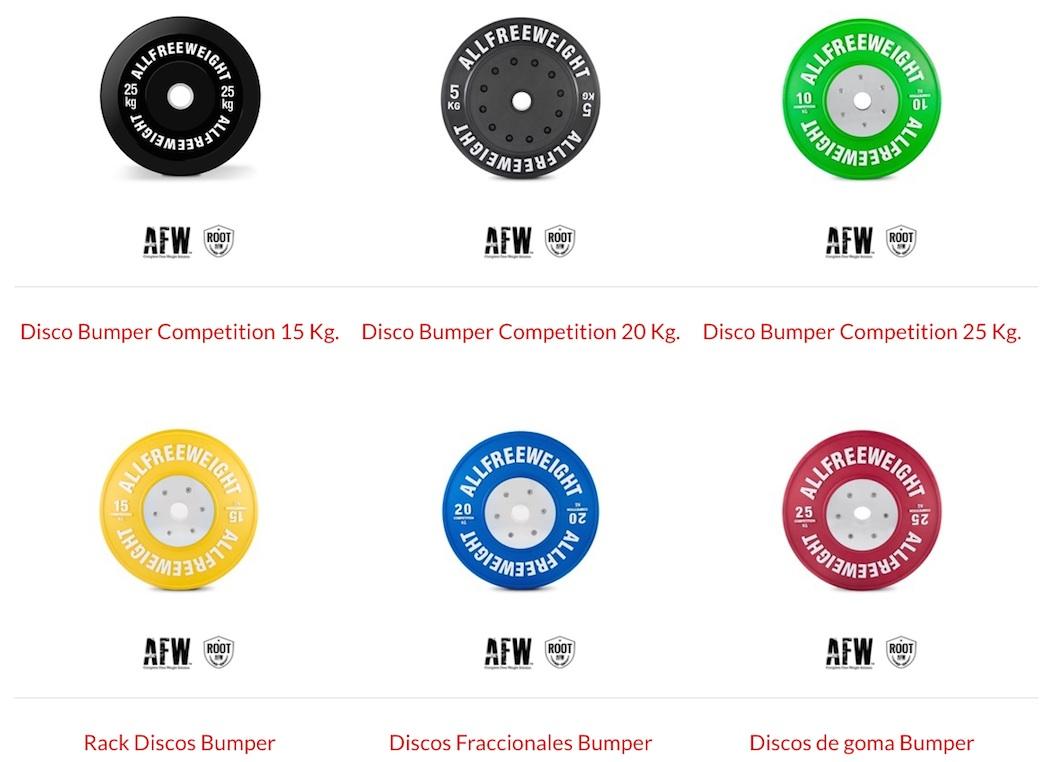 AFW / DISCOS BUMPER COMPETITION