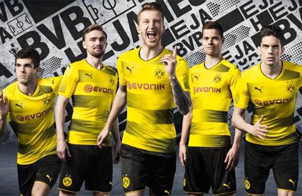 Puma desvela la nueva equipación del Dortmund