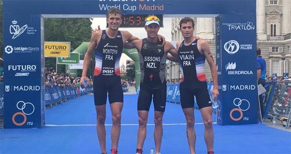 Sissons logra en Madrid su primera Copa del Mundo de Triatlón
