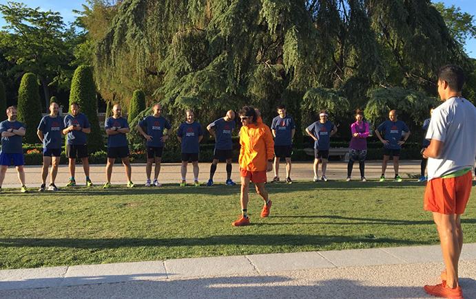 The North Face potencia su lado más urbano en un entrenamiento con corredores