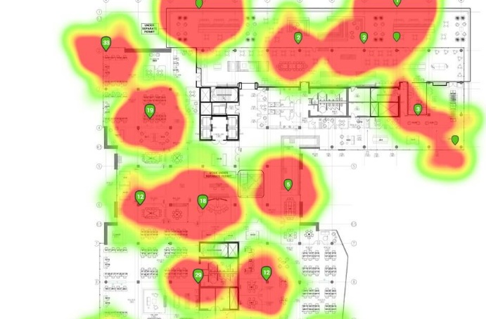 Life Fitness incorpora un mapa de calor a LFconnect