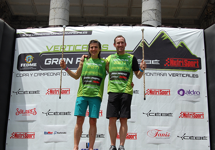 Iñigo Lariz y Maite Maiora, campeones de España de Carreras Verticales
