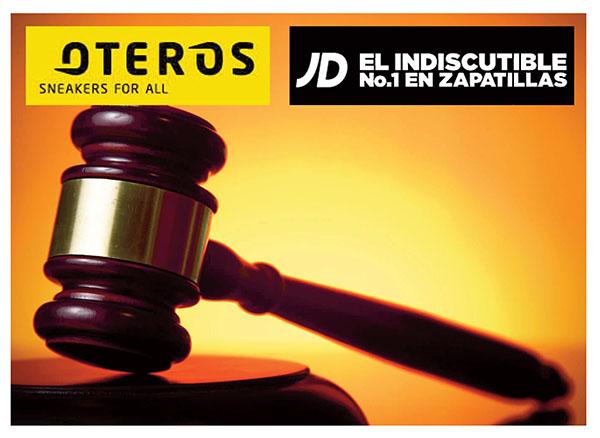 El juez desestima una demanda de JD Sports contra Oteros Sport