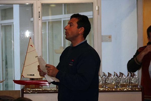 Designan a Xavi Roca comodoro del Club de Mar Sitges