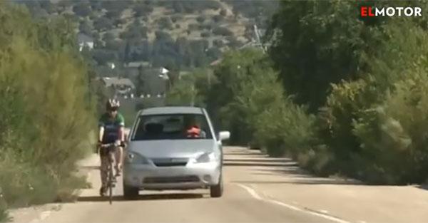 Cómo adelantar a un ciclista en carretera de forma correcta