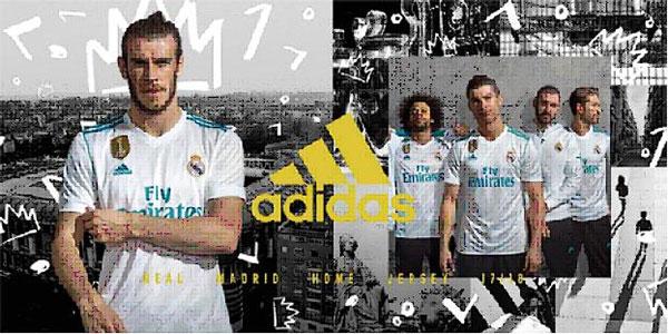 El Real Madrid presenta oficialmente sus equipaciones 2017/18