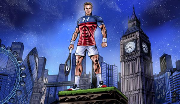 El 'superhéroe' Andy Murray, protagonista de la nueva campaña de Under Armour