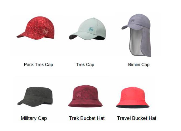 Buff muestra su nueva colección de gorras outdoor en Friedrichshafen