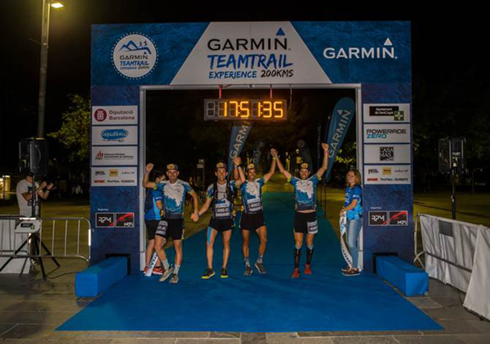 El Buff Pro Team vence en el debut de la Garmin Trail