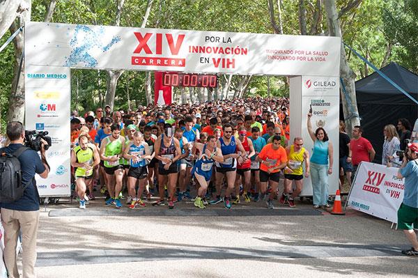 Carreras contra el Sida y contra la violencia de género, en Madrid