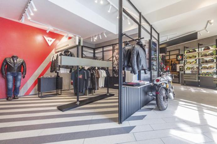 Dainese elige Berlín para lanzar su nuevo formato de tienda