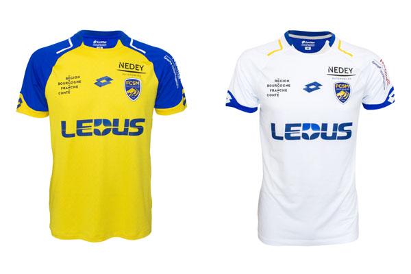 Lotto presenta las nuevas camisetas del Football Club Sochaux-Montbéliard