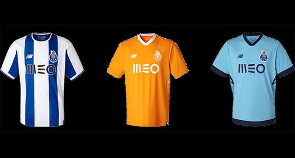 New Balance desvela las nuevas equipaciones del FC Oporto