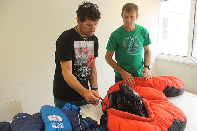 Ternua equipa a Iñurrategi y Vallejo en su segundo intento al Gasherbrum