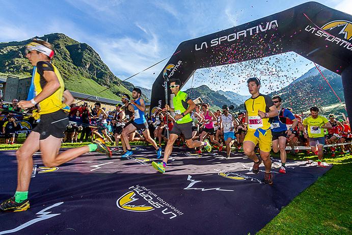 Más de 700 corredores se enfrentan a La Olla de Núria