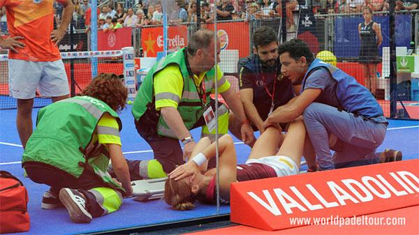 Las lesiones deciden las finales del Valladolid Open 2017