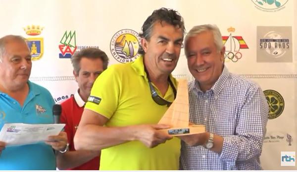 Ramón Calero conquista su tercera Copa de Andalucía