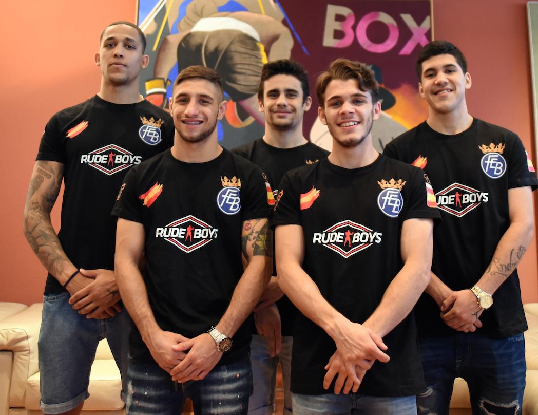 La selección española de boxeo viaja a Ucrania para disputar el Europeo