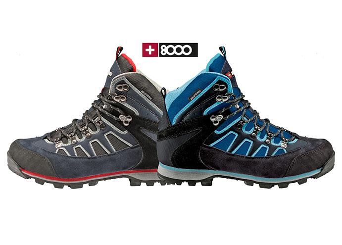 +8000 presenta una nueva bota para 'adictos' a la montaña
