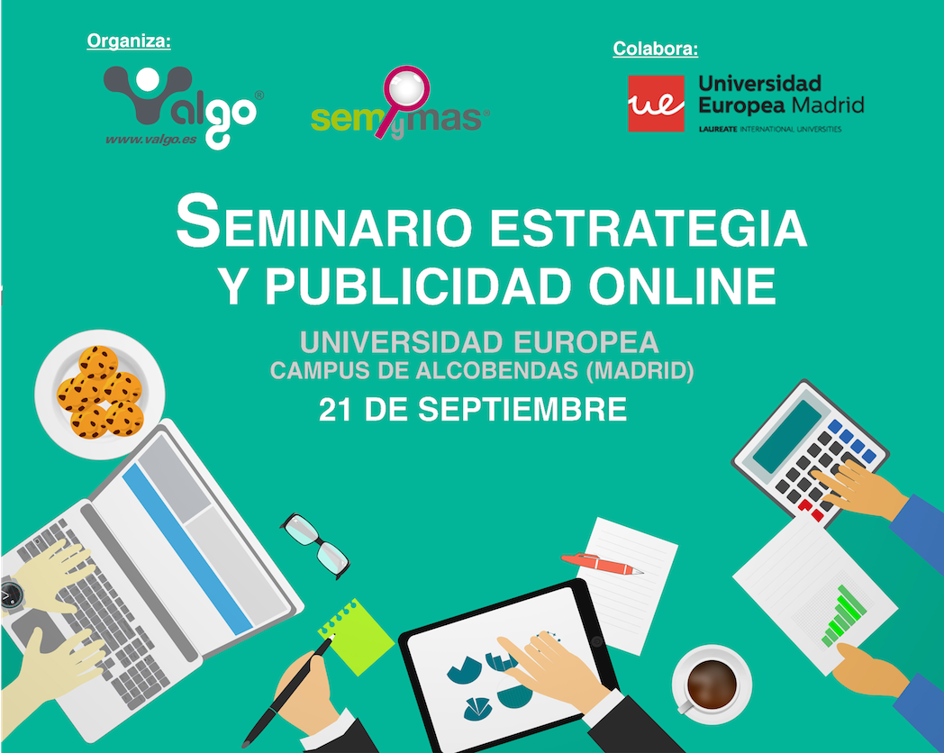 Valgo organiza el Seminario Estrategia y Publicidad Online
