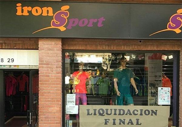 """La tienda Iron Sport cierra por """"culpa de Internet y la permisividad de las marcas"""""""