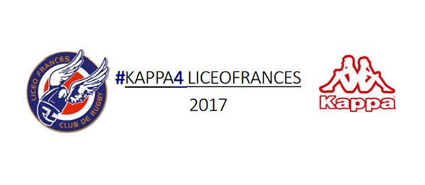 Kappa, nuevo sponsor del Club Rugby Liceo Francés
