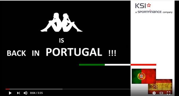"""Kappa refuerza su estructura en Portugal para convertirse en """"marca de referencia"""""""