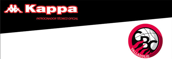 Kappa vestirá al Club de Baloncesto Valladolid las tres próximas temporadas