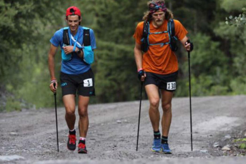 Kilian Jornet gana la Hardrock tras correr 140km con un brazo en cabestrillo