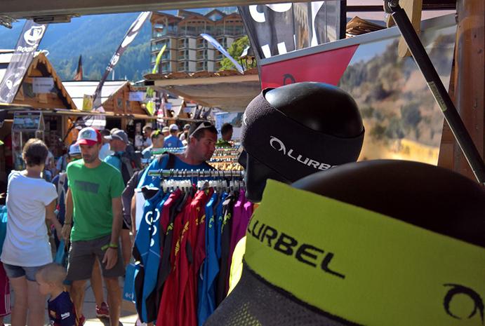 Lurbel volverá a exponer en la feria del Ultra Trail du Mont-Blanc