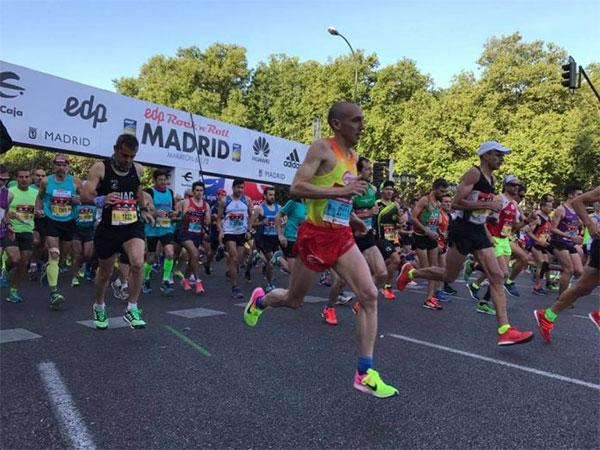 Vuelan los dorsales para el EDP Rock 'n' Roll Madrid Maraton