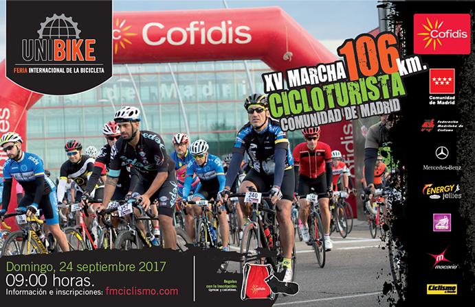La Marcha Cicloturista Unibike regresa el 24 de septiembre