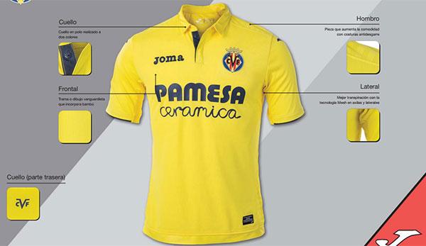 Nueva piel amarilla para el Villareal CF